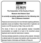Museum Assistant Wanted