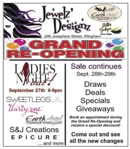 Jewelz' Designz Grand Re-opening