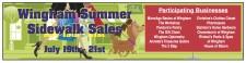 Wingham Summer Sidewalk Sales