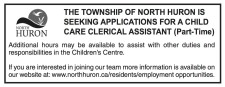 CHILD CARE CLERICAL ASSISTANT wanted