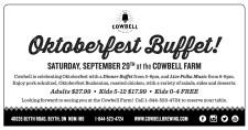 Oktoberfest Buffet!