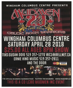 WINGHAM COLUMBUS CENTRE PRESENTS...MUDMEN